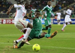 Elderson at AFCON 2013