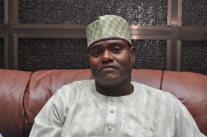 Chairman Kano State Football Association, Rabiu Sharrif Inua