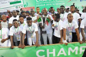 Rangers International FC of Enugu won the NPFL title after 32 years.