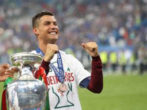 Ronaldo won the Euro 2016 with Portugal
