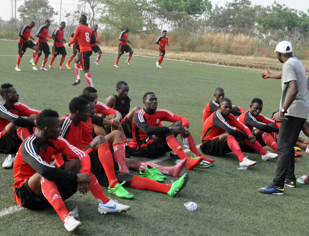 KATSINA UNITED IN TRAINING1