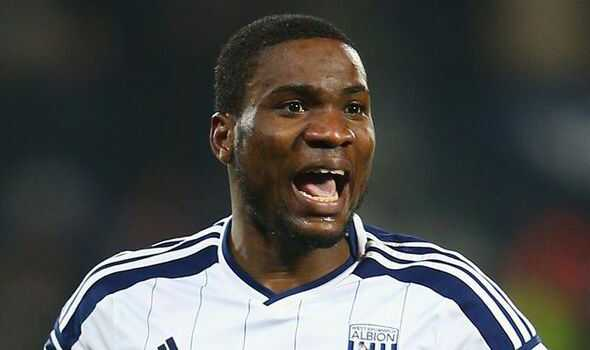 Ideye scored 7 goals in 31 appearances for West Brom