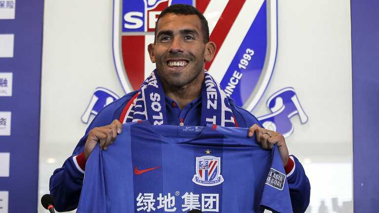 Carlos Tevez will play for Shanghai Shenhua this season