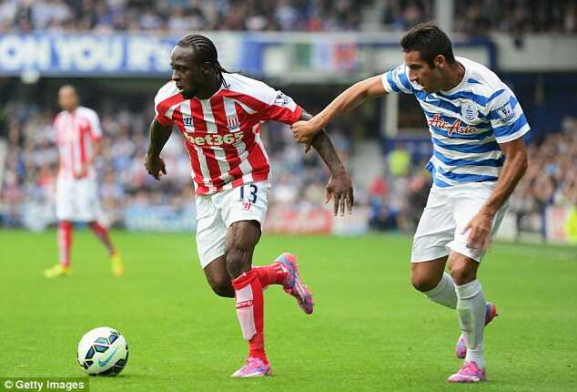Victor Moses at Stoke City