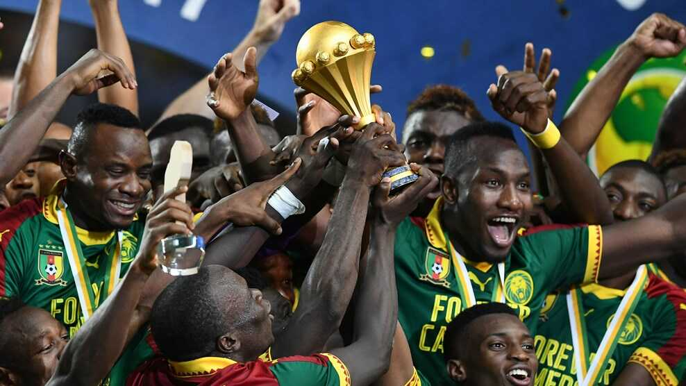 Broos led Cameroon to AFCON 2017 glory in February.