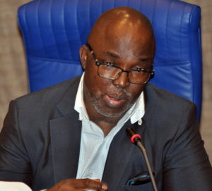 NFF President, Amaju Pinnick will battle for a place on the CAF Executive seat