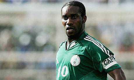 Former Nigerian captain, Jay Jay Okocha