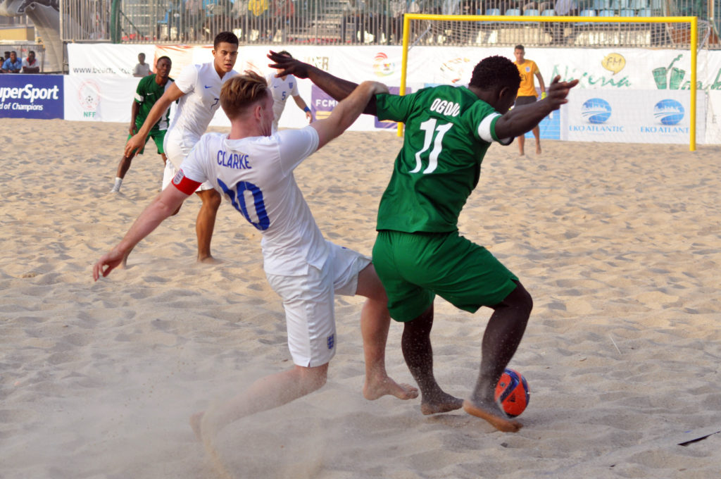 BEACH SOCCER NIGERIA