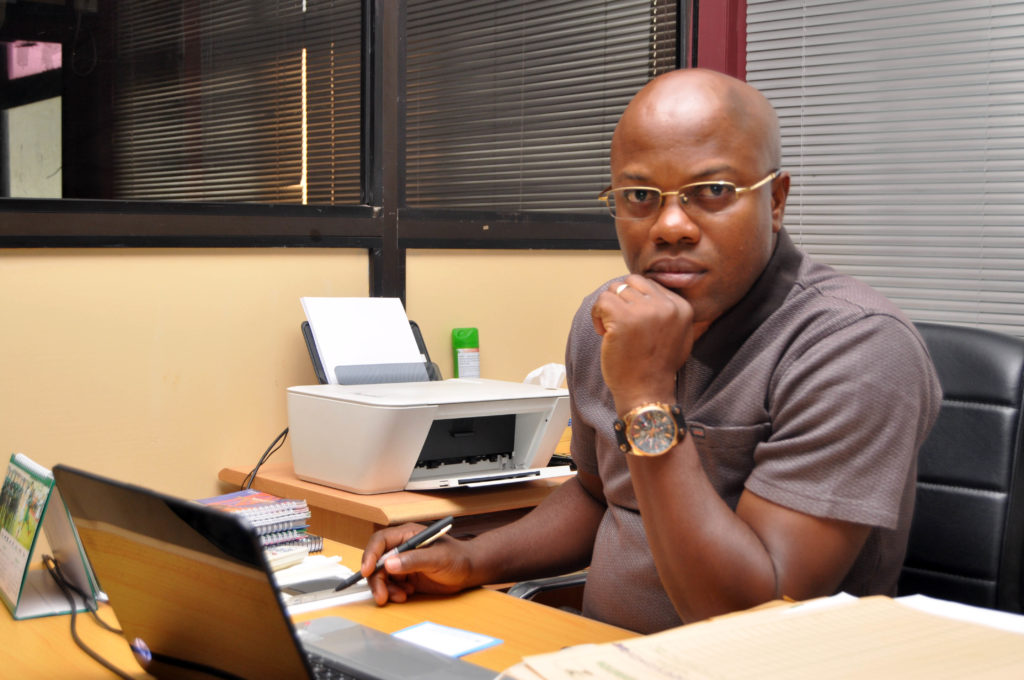 NFF's Integrity Officer, Dr. Christian Emeruwa