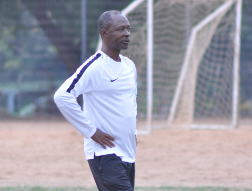 Fatai Amoo on National Duty for the Olympic team  in 2016