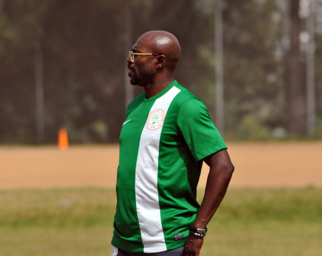 Imama Amapakabo also serves as the Assistant Super Eagles Coach