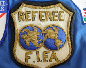 REFEREE BADGE FIFA
