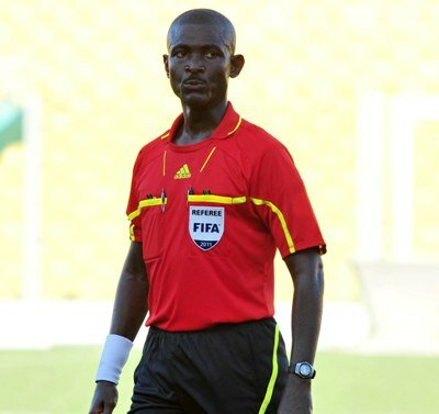 Disgraced Ghanaian Referee, Joseph Lamptey