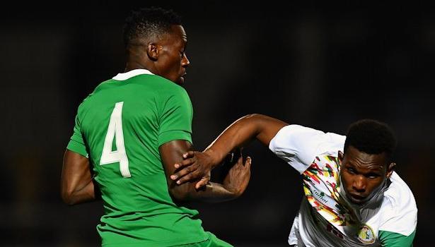 Nigeria's Kenneth Omeruo in the game vs Senegal