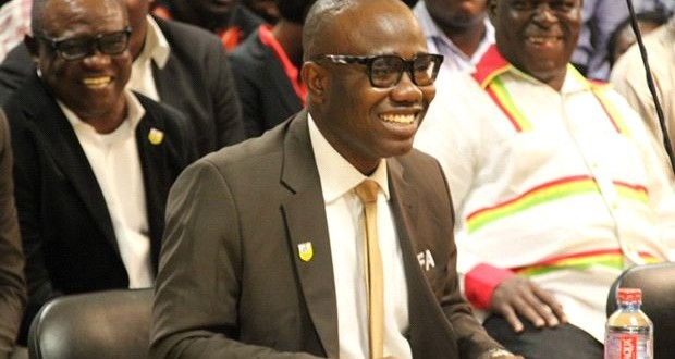 CAF Executive Committee member and Ghana Football Association President, Kwesi Nyantakyi
