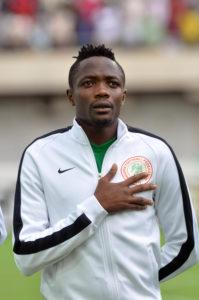 Super Eagles attacker, Ahmed Musa