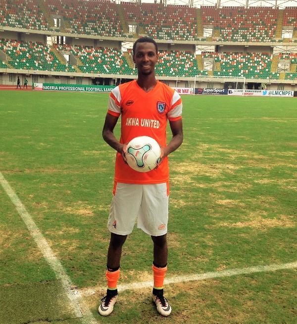 AlHassan 'Muazam' Ibrahim of Akwa United