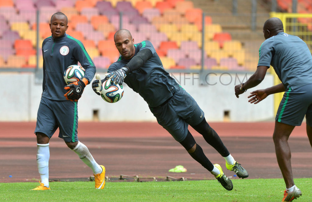 during the 2017 Africa Cup of Nations Qualifiers  Nigeria Training  on Sep,1st,2015 at National Stadium,Abuja © Kabiru Abubakar/Backpagepix