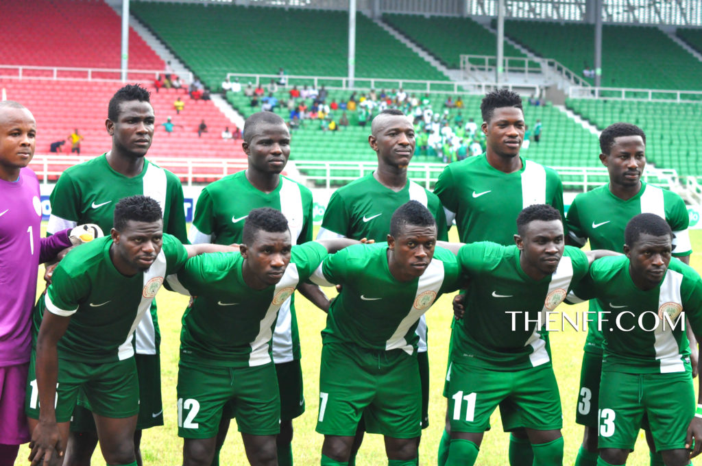 Home Based Super Eagles at last CHAN qualifiers