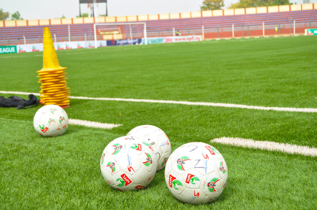 NPFL FOOTBALL AND PITCH