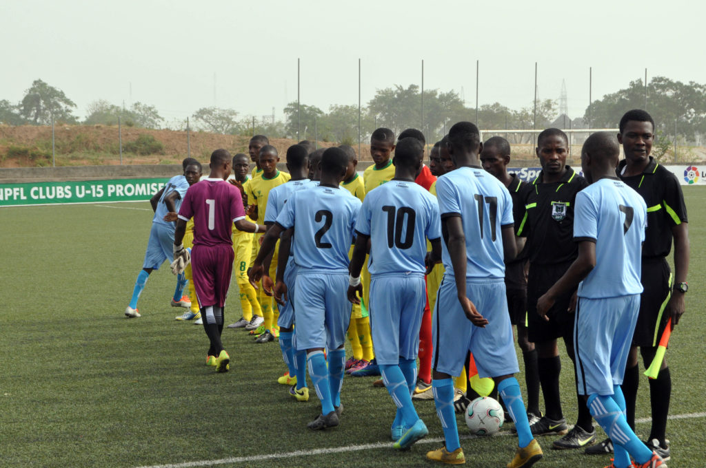 The NPFL U15 Tournament was played at different zones.