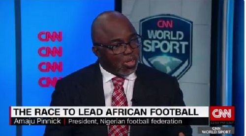 Pinnick was at the forefront following Hayatou's removal as CAF President after 29 years