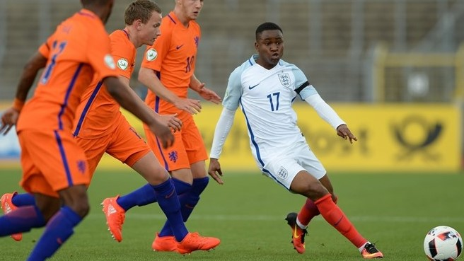 Ademola Lookman also of Nigerian heritage will play for the England U20 at the 2017 FIFA U20 World Cup