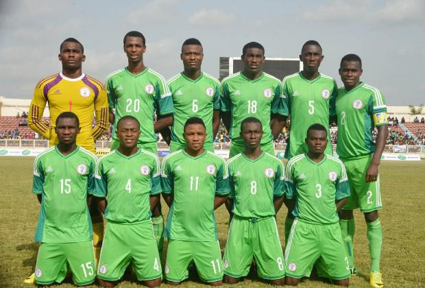 Flying Eagles 2015 under Coach Manu Garba