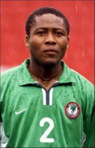 Ifeanyi Udeze former Super Eagles player