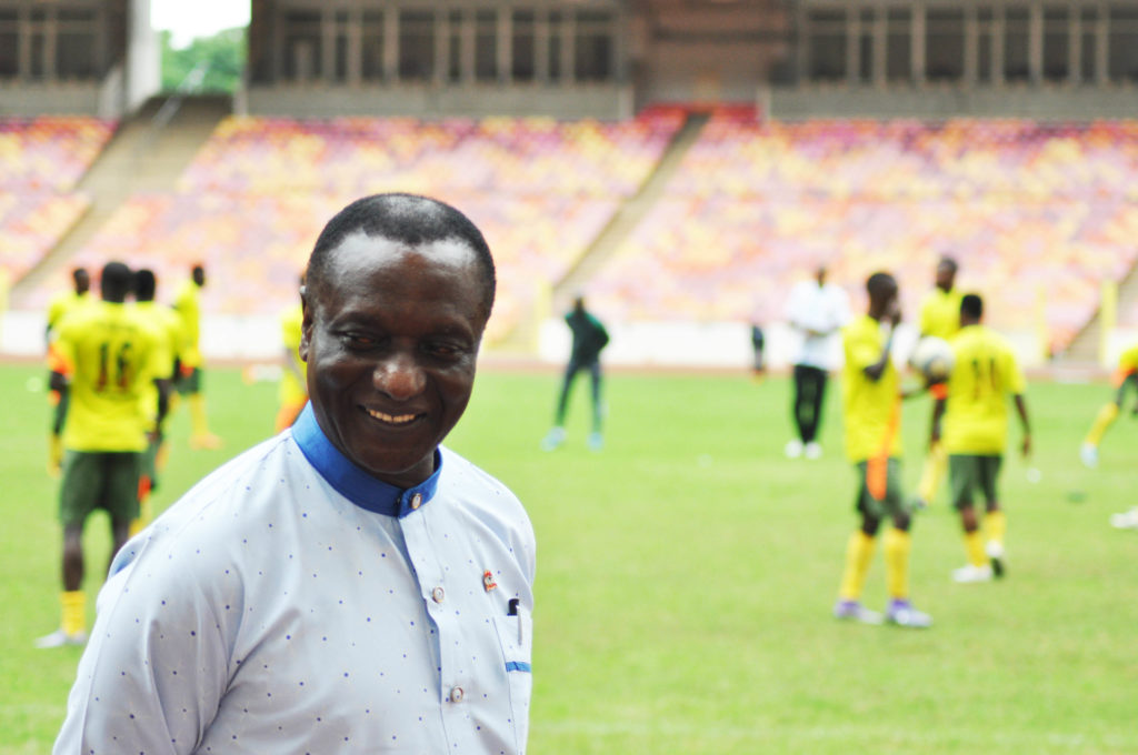 Bitrus Bewarang is the National Technical Director of the NFF