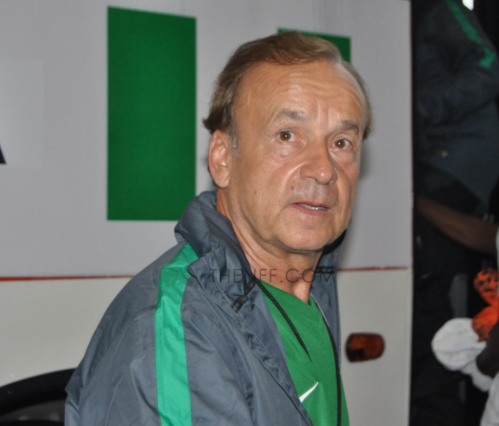 Super Eagles Technical Adviser, Gernot Rohr has recorded four wins and two draws since taking over