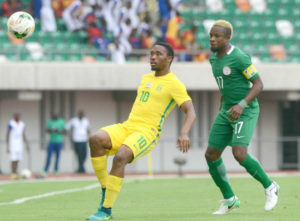 South Africa stunned the Super Eagles 2-0 at the Godswill Akpabio International, Stadium, Uyo
