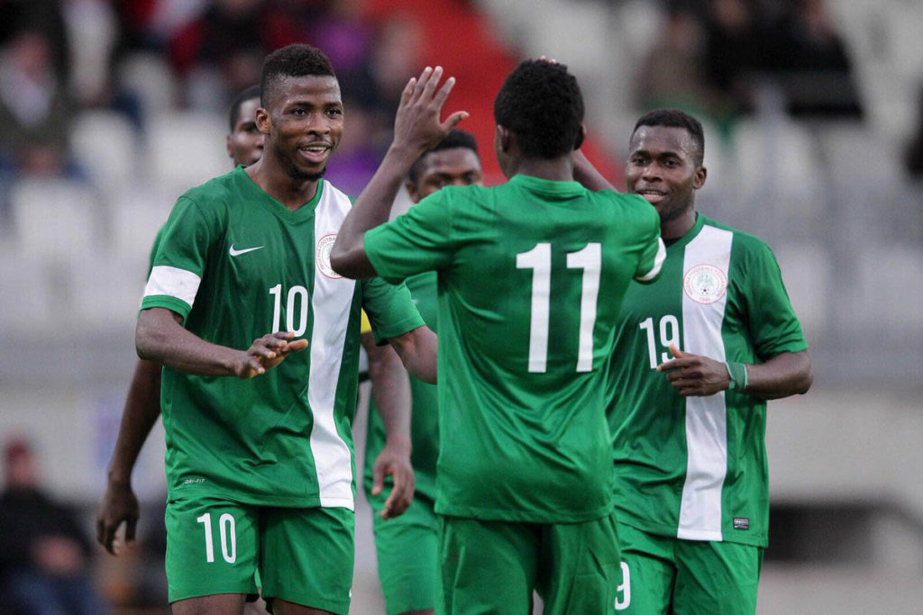 Iheanacho has scored seven goals in 10 appearances for the Super Eagles.