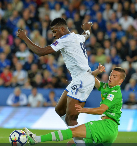 Iheanacho to Lead City's Attack against Arsenal