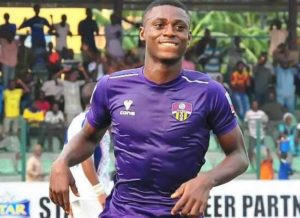 Odey played for MFM FC in the NPFL