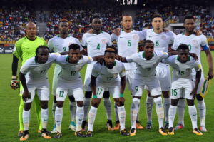Eagles line up versus Cameroon in Yaounde