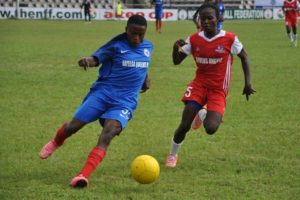 Bayelsa Queens threw away a 2-0 lead as Angels fought back to level scores in the Aiteo Cup 1st leg semi-final