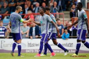 Henry Onyekuru scored twice for Anderlecht