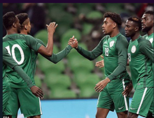 Iwobi and Iheanacho formed a formidable partnership in the friendly against Argentina in November