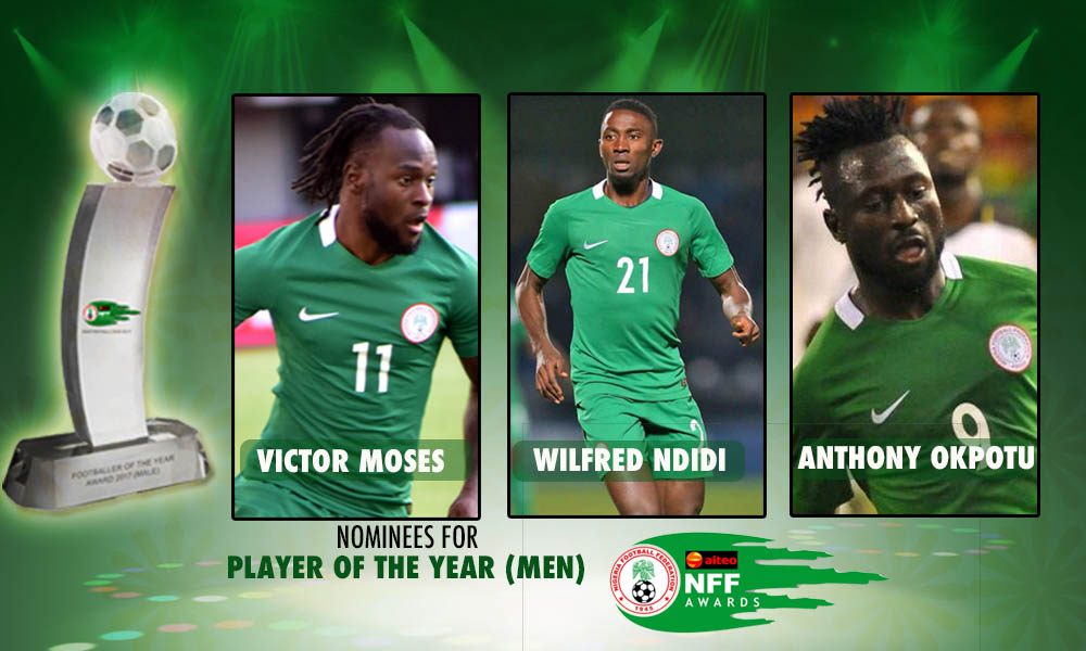 Victor Moses honoured by NFF Awards, FIFA congratulate him