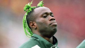 Taribo West was a trojan in the Eagles defence in his days