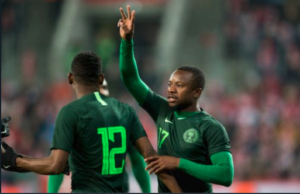 Ogenyi Onazi was very influential in the Eagles midfield at the 2014 FIFA World Cup in Brazil