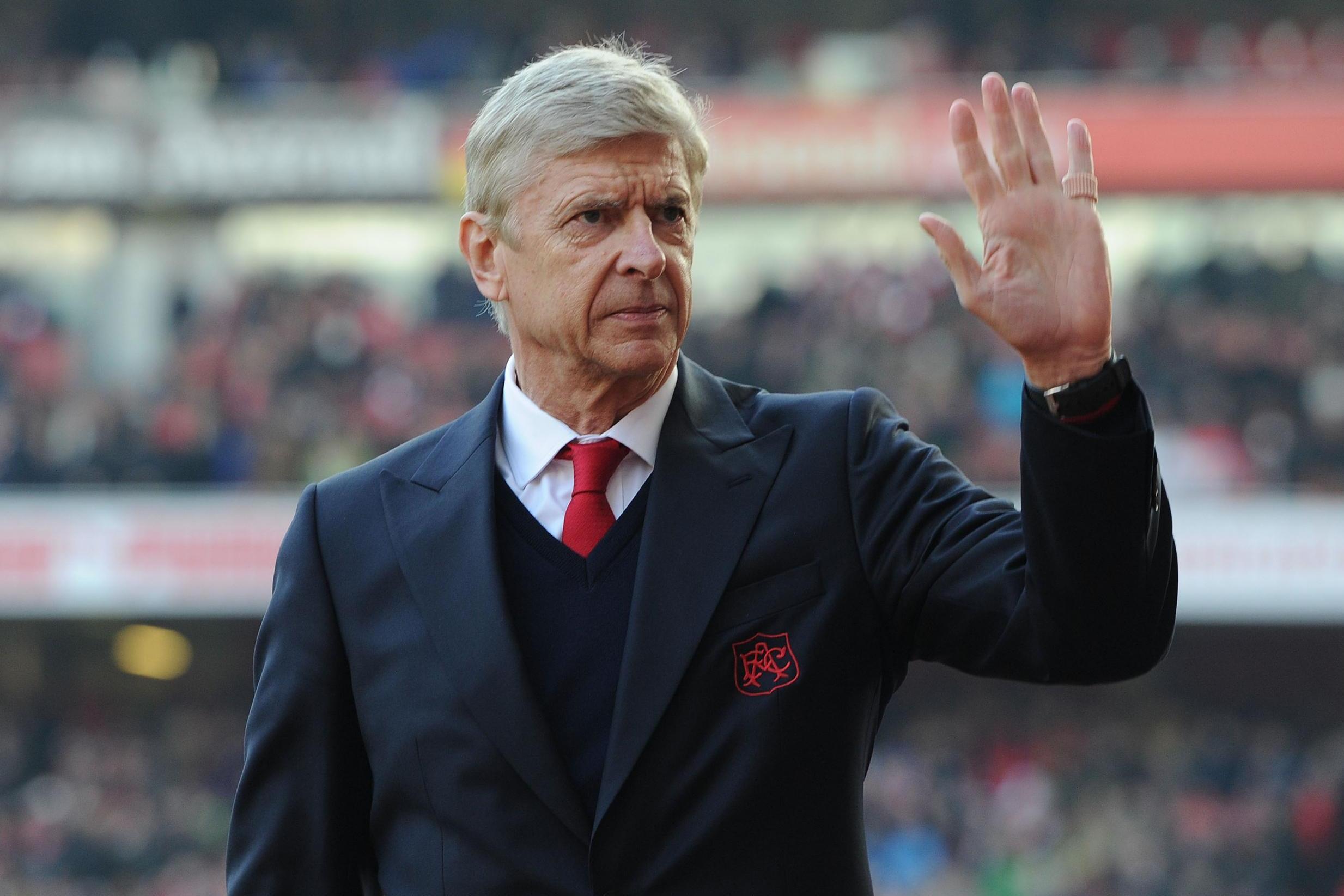 Outgoing Arsenal Boss Arsene Wenger
