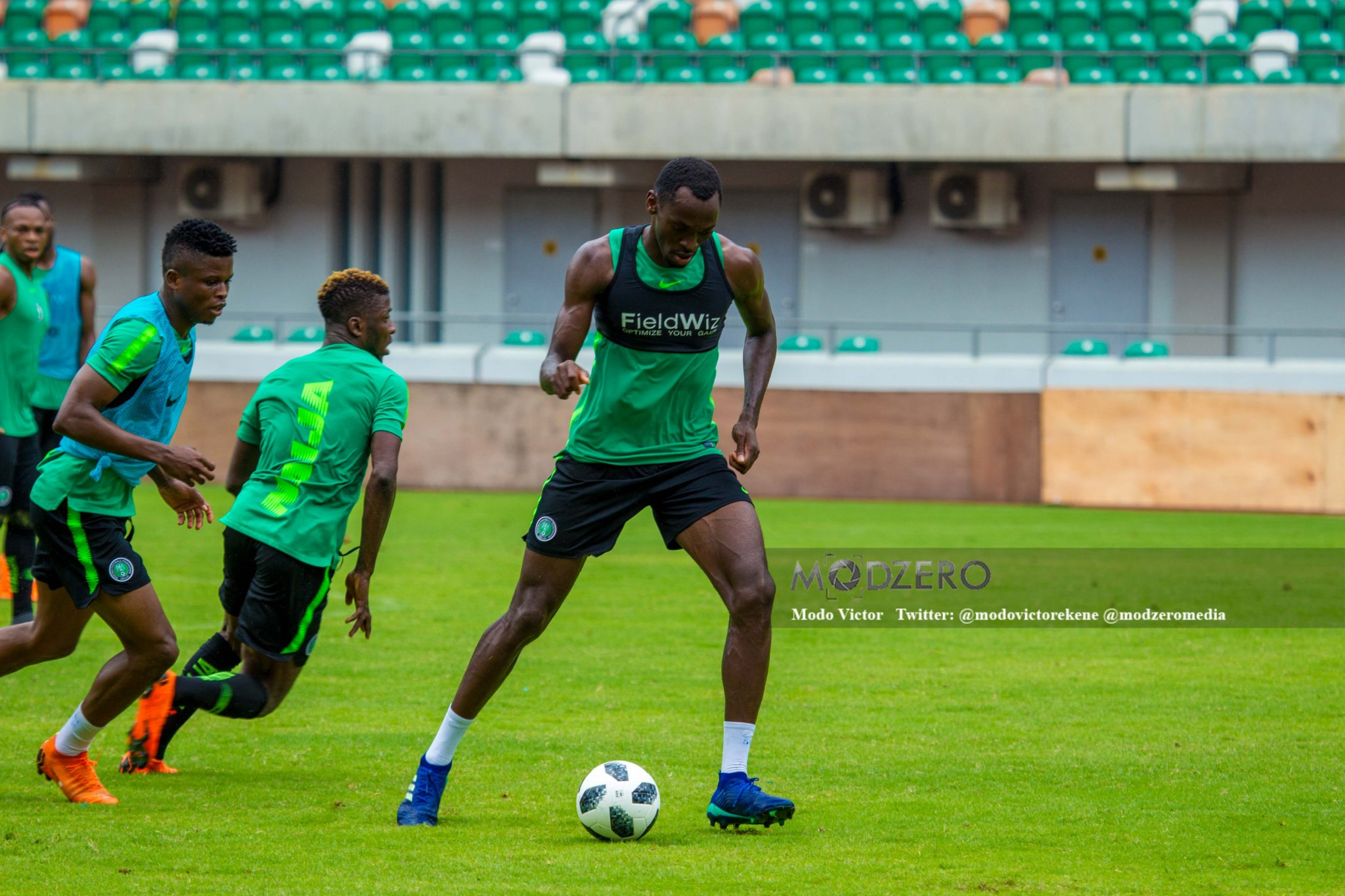 Rohr awaits confirmation injury will rule out Moses Simon from World Cup