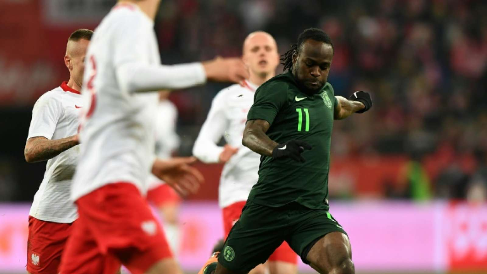 Nigeria's Moses Ruled Out of #Russia2018 Worldcup