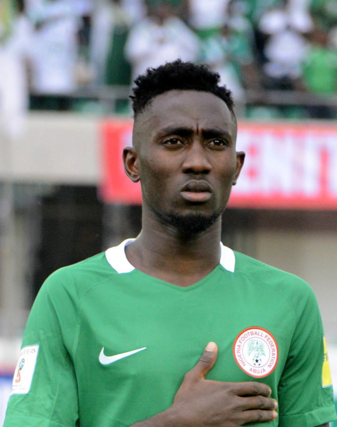 947a475b8 World Cup  Ndidi to wear Jersey number 4