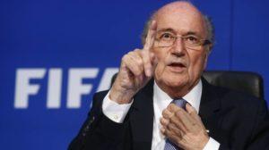 Former FIFA President, Sepp Blatter