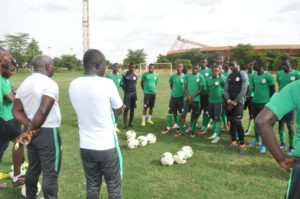 EAGLETS IN TRAINING NIGER