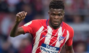 Ghanaian born Atletico Madrid Thomas Partey