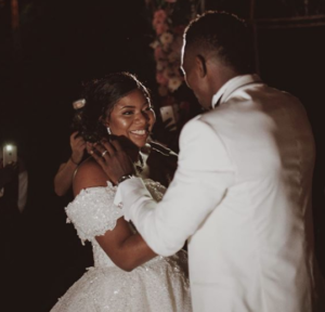 Splendid wedding between Chioma and Ken